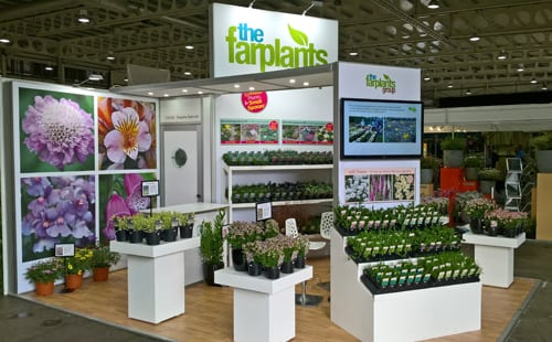 A New Trade Stand for the National Plant Show